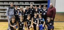 Mlajši dečki so postali občinski prvaki v košarki